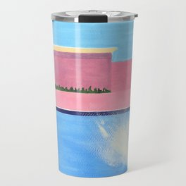 Splash! after David Hockney Travel Mug