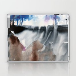 top of the hill Laptop & iPad Skin