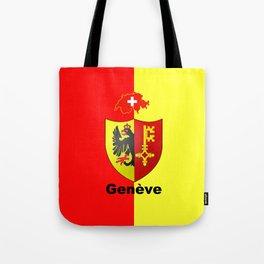 Geneve City of Zwitzerland Tote Bag