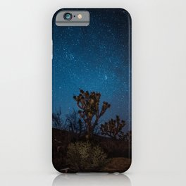 Midnight Stars at Joshua Tree iPhone Case