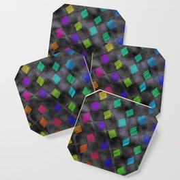 Square Color Coaster