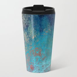 On the verge of Blue Travel Mug
