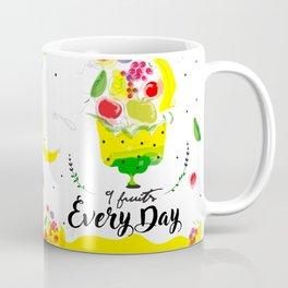 Eat 9 fruits ewery day Coffee Mug
