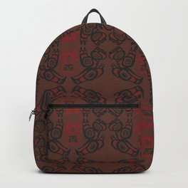 Twin Peaks The Great Northern Lodge Tribal Painting Backpack
