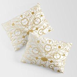 Mystical Oriental Floral Lotuses Boho Bohemian Hipster Pillow Sham