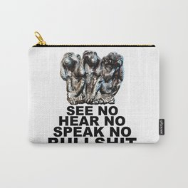 NO BULLSHIT 2 Carry-All Pouch