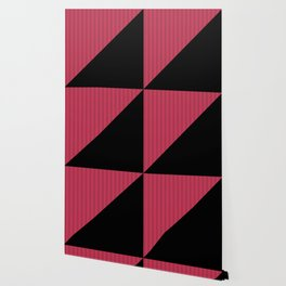 Black , red , triangles Wallpaper