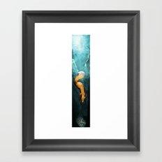 Digging Deeper Framed Art Print