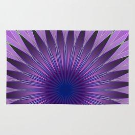 Lavender mandala Rug