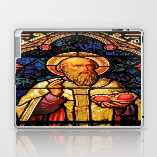 Saintly Glass #2 Laptop & iPad Skin