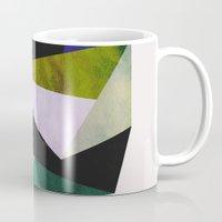 emerald Mugs featuring Emerald by Georgiana Paraschiv