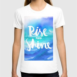 Rise And Shine - Collaboration by Jacqueline Maldonado and Galaxy Eyes T-shirt