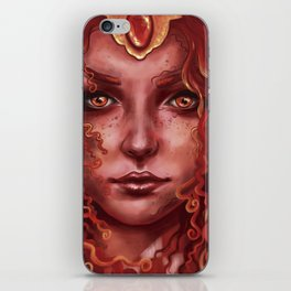 Red queen iPhone Skin