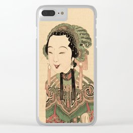 Wish you Good Health and Fortune Clear iPhone Case
