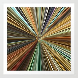 Fall Color Ball Art Print