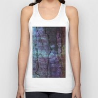 cracked Tank Tops featuring cracked Earth by helsch photography