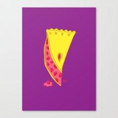 SLICE O PIE Canvas Print