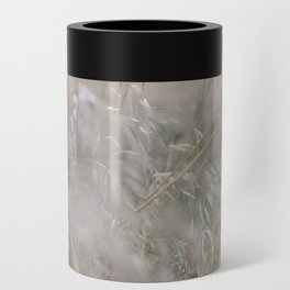 Tall wild grass growing in a meadow Can Cooler