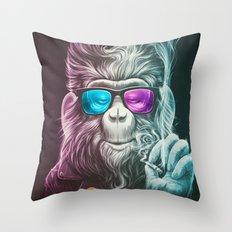 Smoky Throw Pillow