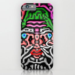 Colors, black, and me ... iPhone Case