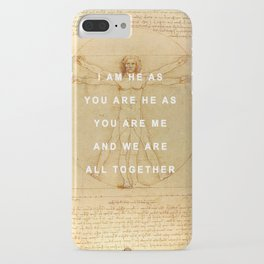The Vitruvian Man is the Walrus iPhone Case