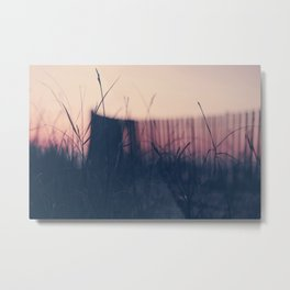 beach sunset II Metal Print