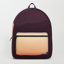 Sunset Mountain Range Backpack
