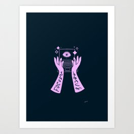 Focus Pocus Art Print