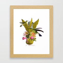 Magic Garden VII Framed Art Print