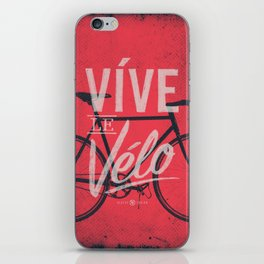 Vive Le Velo 2011 iPhone Skin