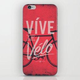 Vive Le Velo 2011 iPhone Skin