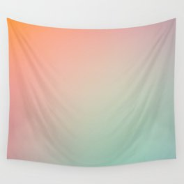 SUNDAY / Plain Soft Mood Color Blends / iPhone Case Wall Tapestry