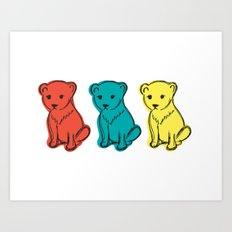Little Lion Men Art Print