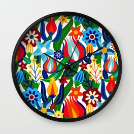 Turkish garden Wall Clock