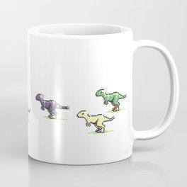 8-Bit T-Rex Coffee Mug