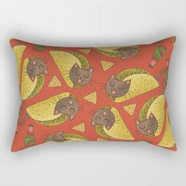 Taco Cats Rectangular Pillow