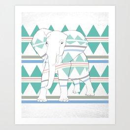 Do I Blend In? #elephant Art Print