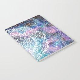 Mandala Dream | Watercolor Galaxy Painting Notebook