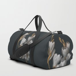 Night Flowers Duffle Bag
