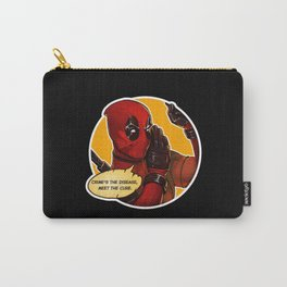 Crime's the disease  Carry-All Pouch