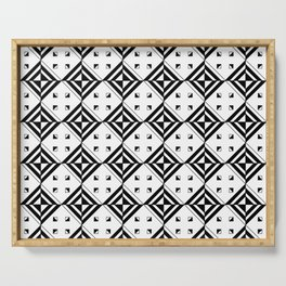 optical pattern 71 Serving Tray