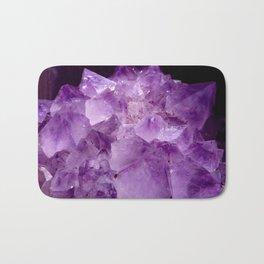 Amethyst Crystals Bath Mat