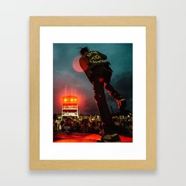 The Travis Concert 2 Framed Art Print