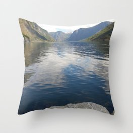 View From The Village Throw Pillow