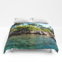 Ile Saint Marguerite Paradise Comforters