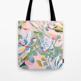 summer succulents Tote Bag