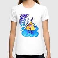 bill cipher T-shirts featuring cipher. by Zombie Rufio
