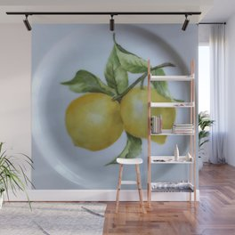 Lemon Botanical Wall Mural