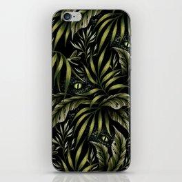 Jurassic Jungle - Camo Green iPhone Skin