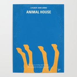 No230 My Animal House Poster